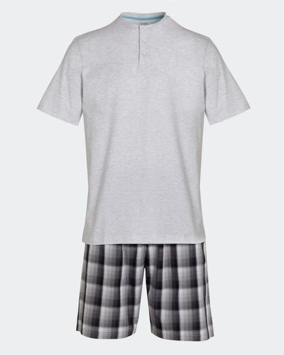 Woven Short Pyjama Set