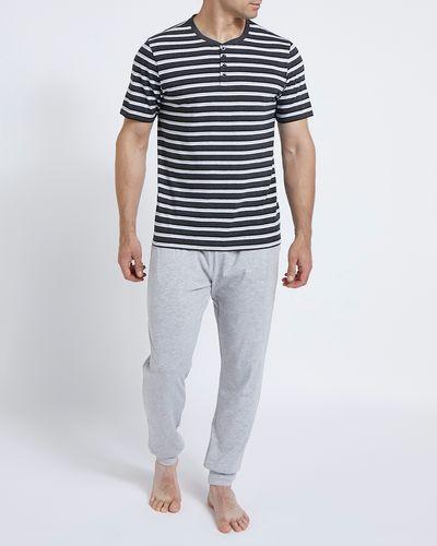 Short-Sleeved Jersey Pyjama Set