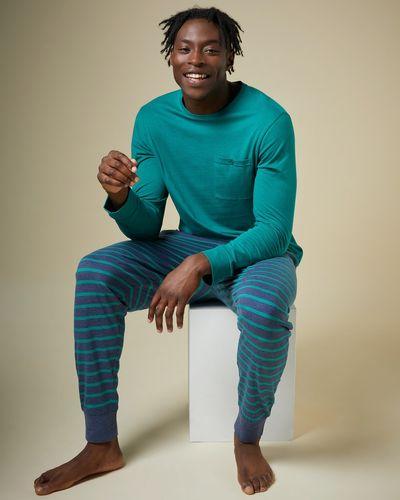 Long-Sleeved Jersey Pyjama Set