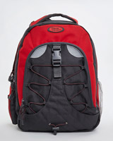 red Red And Grey Cool Backpack