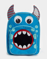 blue Monster Backpack