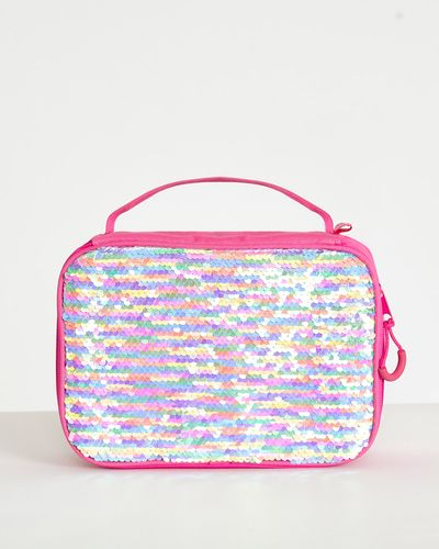 Flip Sequin Lunch Bag
