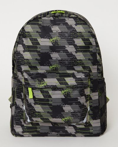Boys Basic Printed Backpack