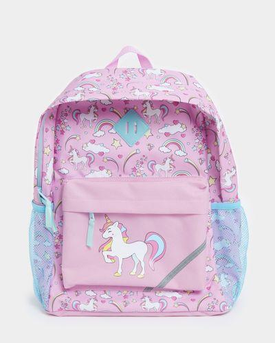Girls Basic Printed Backpack