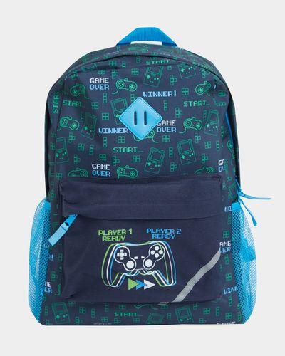 Boys Basic Print Backpack