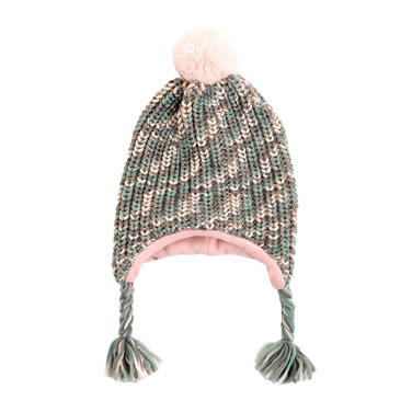 multi Chunky Knit Inca Hat
