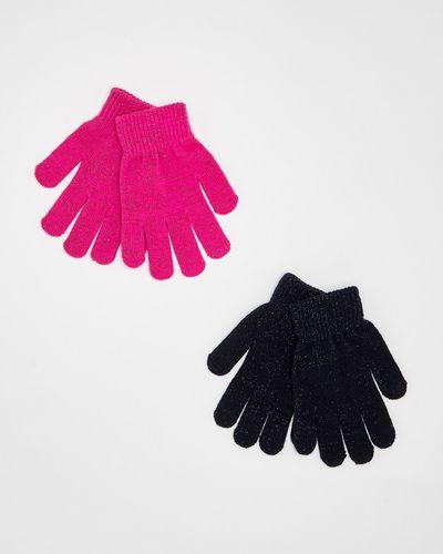 Lurex Gloves - Pack Of 2