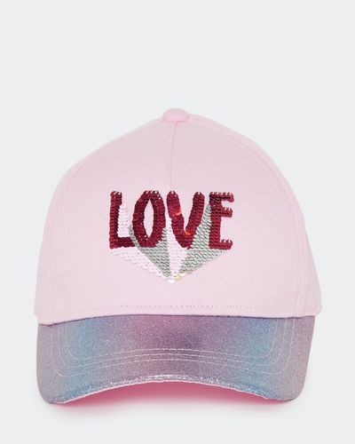 Love Reverse Sequin Hat (3-11 years)