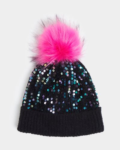 Sequin Pom Hat (3-11 years) thumbnail