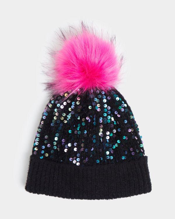 Sequin Pom Hat (3-11 years)