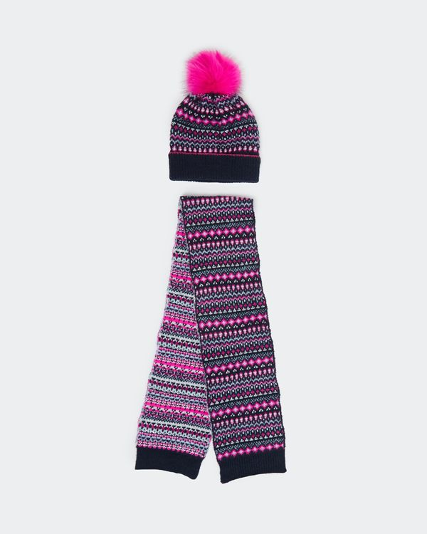 Hat And Scarf Set (3-11 years)