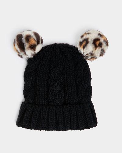 Leopard Pom Hat (3-11 years) thumbnail
