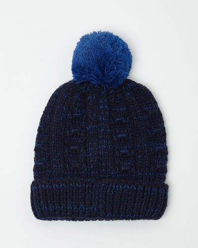 Textured Knit Hat