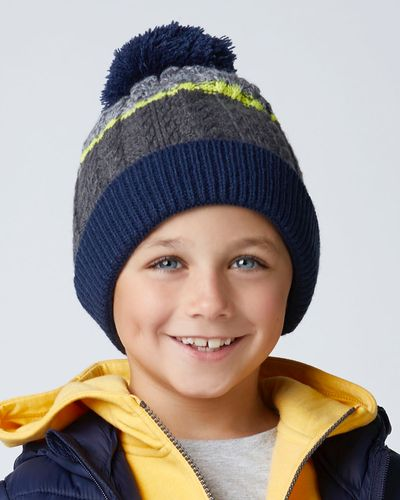 Boys Cable Hat