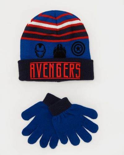 Avengers Hat And Gloves Set