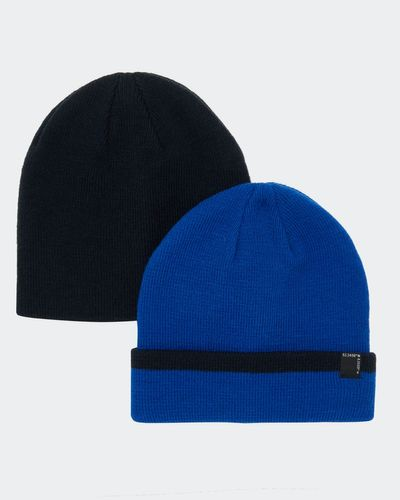 Basic Hats - Pack Of 2 (3-11 years)