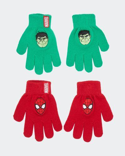 Marvel Gloves - Pack Of 2 (7-11 years)