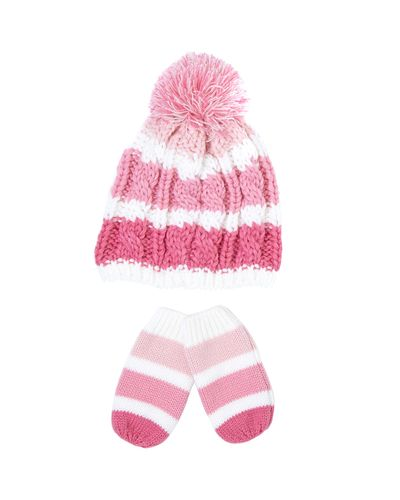 Cable Beanie Set