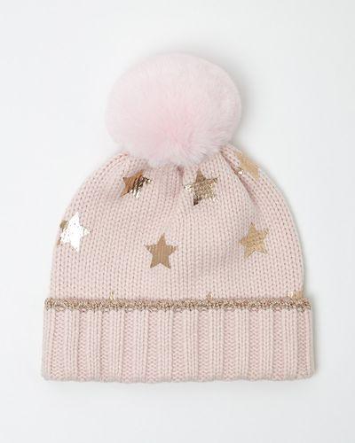 Star Print Hat