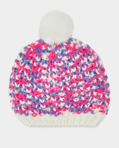 Baby Girls Textured Knit Hat (6 months-6 years) thumbnail