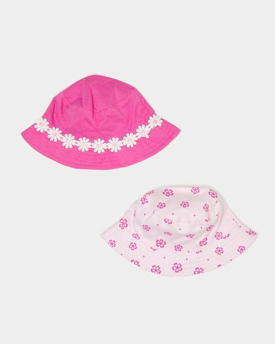 Fisherman Hats - Pack Of 2 (3 months-6 years)