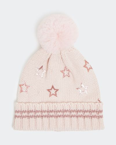 Star Print Hat (6 months - 3 years)
