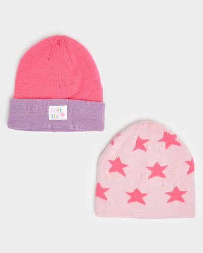 Basic Hat - Pack Of 2 (6 months - 6 years)