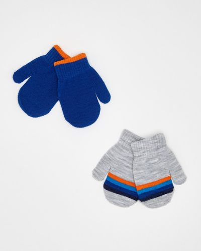 Baby Boys Mittens - Pack Of 2