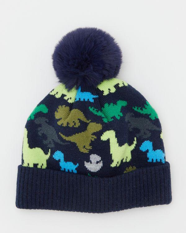Dino Jacquard Hat (6 months-6 years)