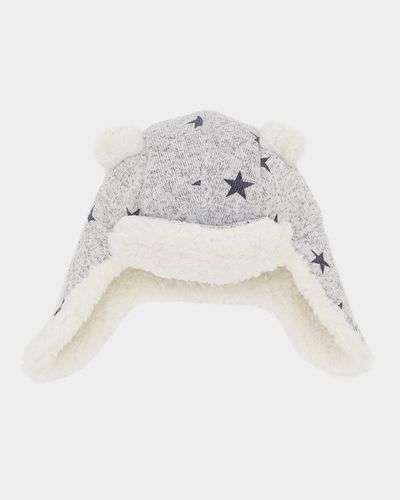Star All-Over Print Trapper Hat