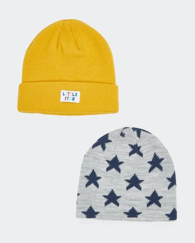 Basic Hat - Pack Of 2 (6 months - 3 years)