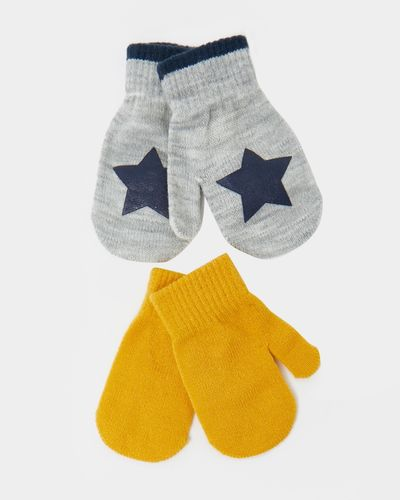 Basic Mitten - Pack Of 2 (6 months - 3 years) thumbnail