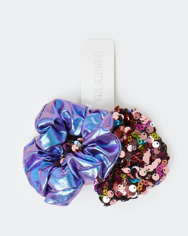 Scrunchie - Pack Of 2