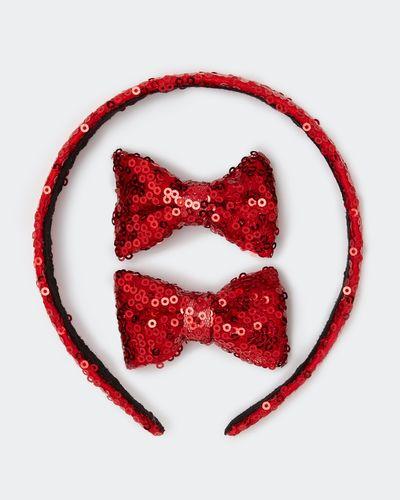 Sequin Hairband Set