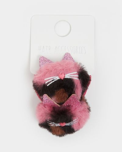 Faux Fur Ponybands - Pack Of 2