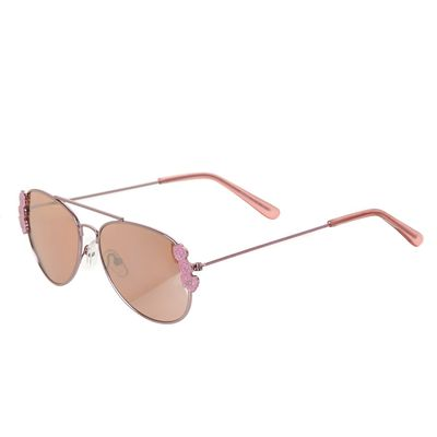 Girls Flower Aviator Sunglasses