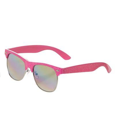 Girls Glitter Clubmaster Sunglasses