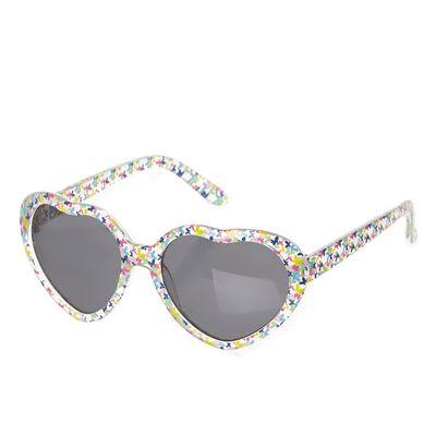 Younger Girls Heart Sunglasses