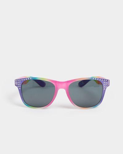 Foil Rainbow Wayfarer Sunglasses