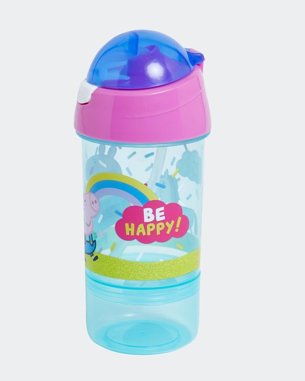 Peppa Pig Sip And Snack Bottle