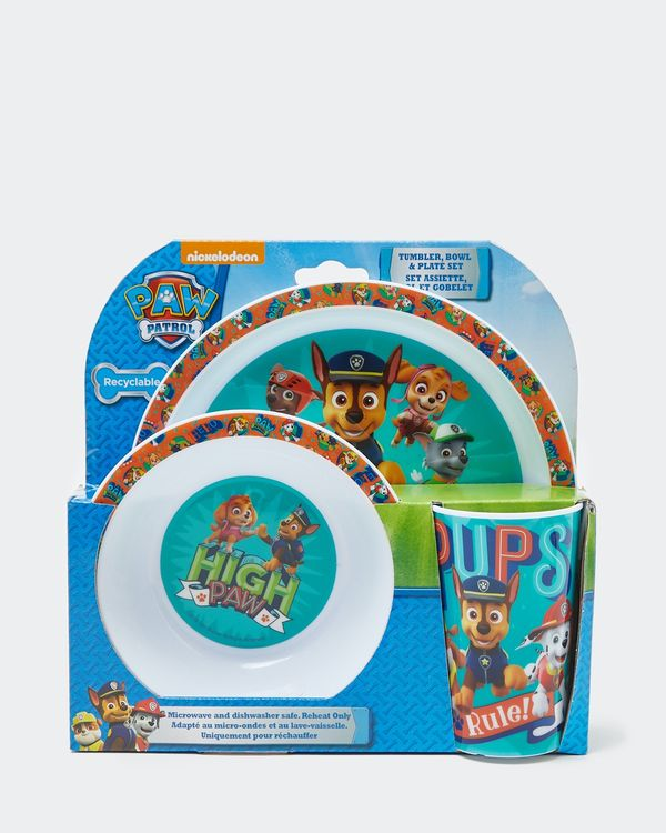 Paw Patrol Three Piece Breakfast Set