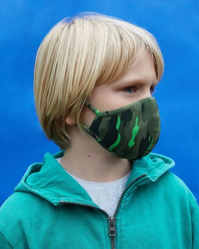 Kids Face Covering - Pack Of 2 (7-12 years)