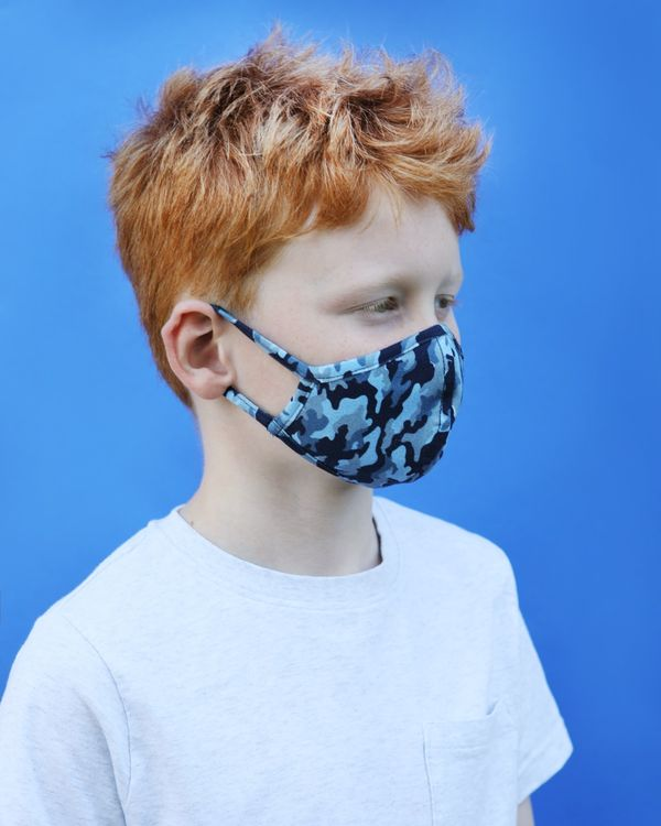 Kids Face Covering - Pack Of 2 (8-12 years)