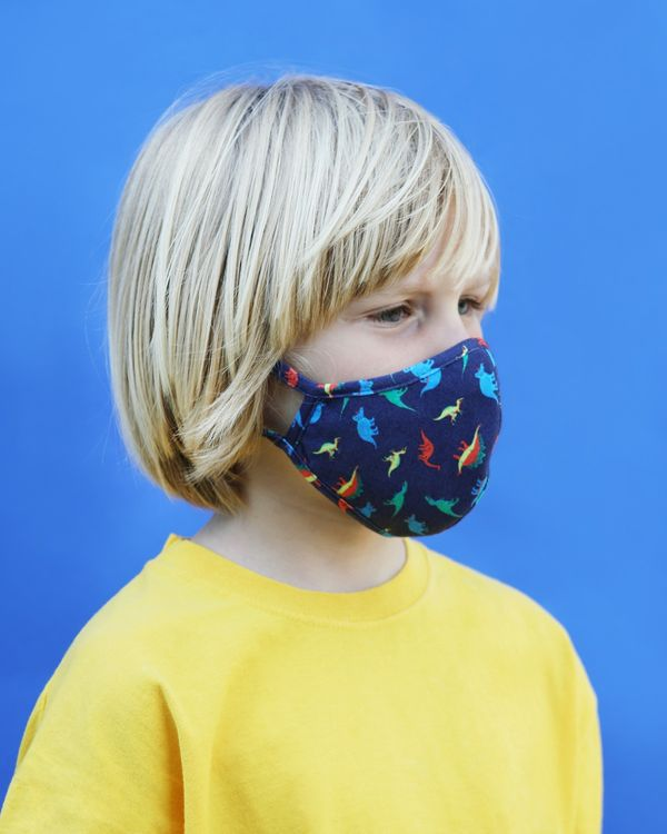 Kids Face Covering - Pack Of 2 (4-8 years)