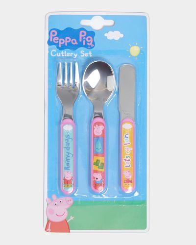 Peppa Cutlery Set - Pack Of 3