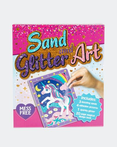 Sand Glitter Art