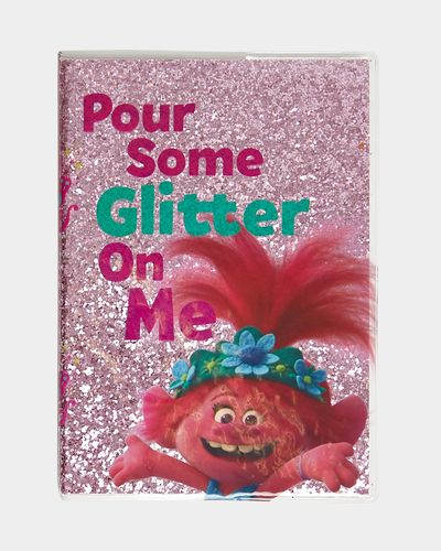 Trolls Glitter Notebook