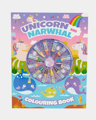 Colour Wheel Colouring Book