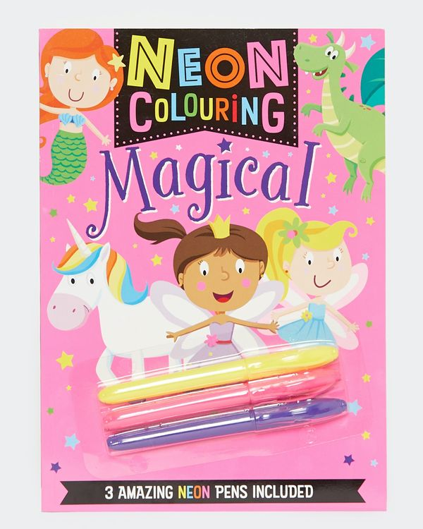 Neon Colouring Book