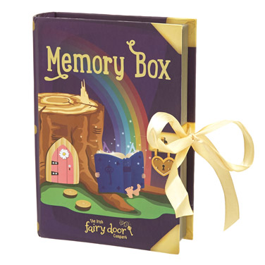 purple Fairy Door Memory Box